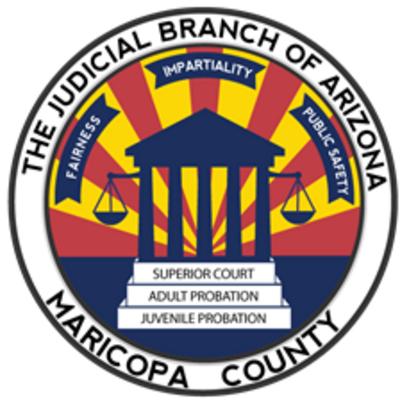 Judicial Branch of Arizona Maricopa County Logo